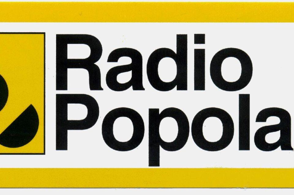 Radio Popolare – Intervista a Parsifal Reparato regista di Nimble fingers e Underground Harvest