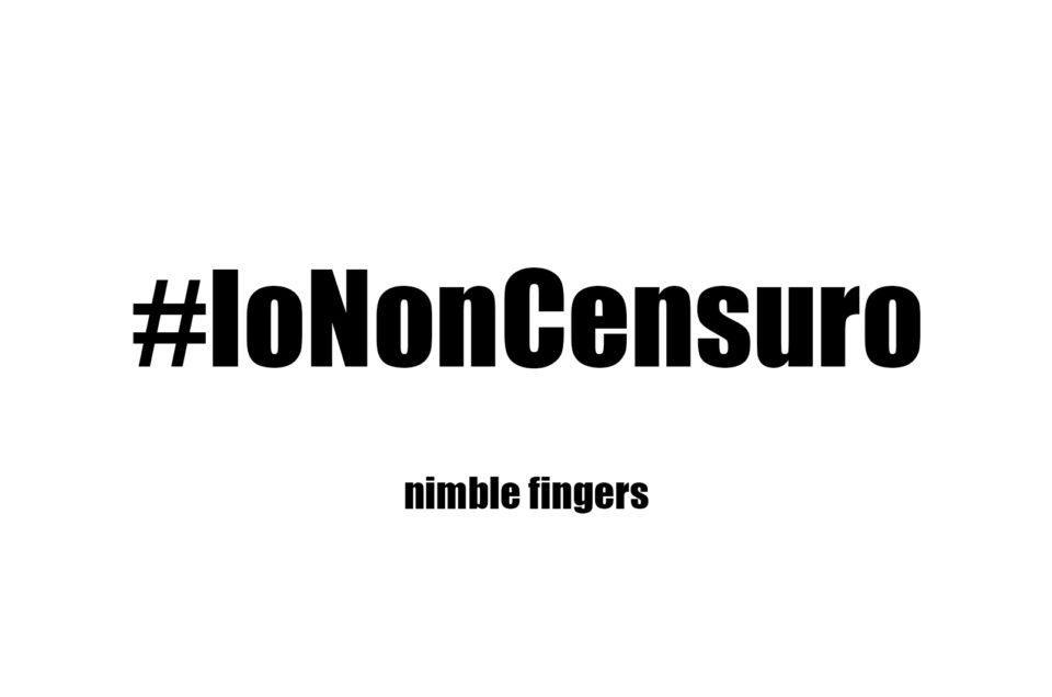 Nimble fingers – Campagna contro la censura dell'Ambasciata Italiana ad Hanoi