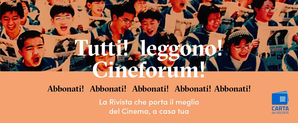 Cineforum – Sole Luna Doc Film Festival 2018