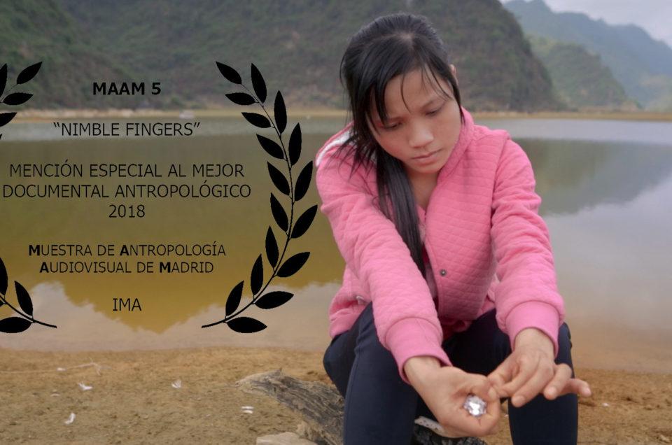 Muestra De Antropología de Madrid – Nimble fingers Mejor Documental Antropologico 2018