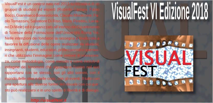 Visual Fest RomaTre – Nimble fingers in concorso