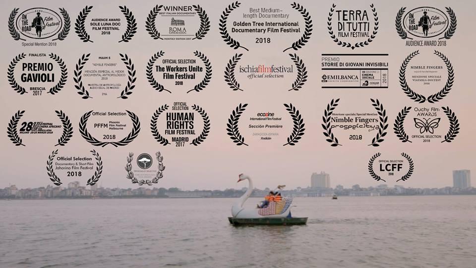 Cinema Italiano – Nimble fingers 2º film documentario italiano 2017 più premiato al mondo
