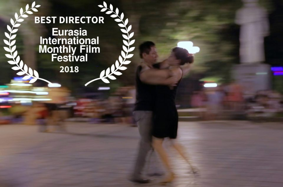 Eurasia International Monthly Film Festival – Parsifal Reparato Best Director for Nimble fingers