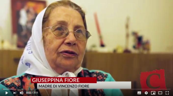 Intervista a Giuseppina Fiore (Madre di Plaza de Mayo) - La Città Futura